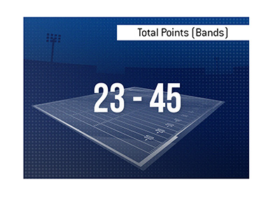 The King explains the meaning of the term Total Points (Bands) when it comes to popular sports such as the National Football League.