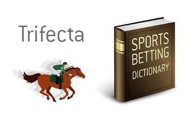 Definition of the sports betting term Trifecta.  What does it mean when it comes to horse racing.
