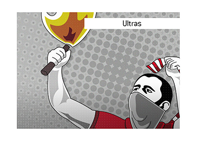 Who are the Ultras in the world of football?  Illustration.  What is the origin of the term?