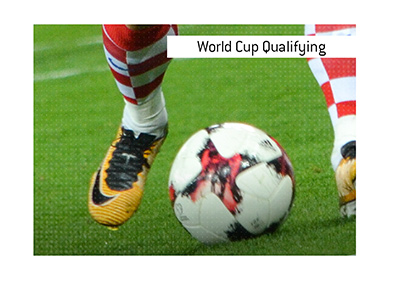 What does the term World Cup qualifying betting mean when it comes to the beautiful game of football / soccer?  The King explains.