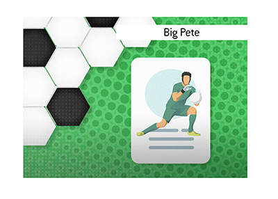 The Cech goalkeeper Petr Cech is a Chelsea FC legend.  Big Pete is his nickname.