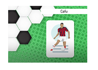 A piece about the famous Brazilian player Cafu.  He is the most capped Brazilian player in history.