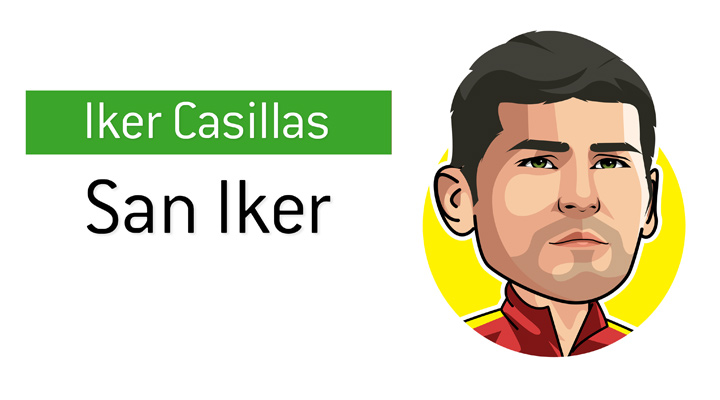 Iker Casillas, also known as San Iker, is one of the most iconic goalkeepers of his generation.