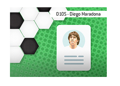 The meaning of the nickname D10S when it comes to the one and only Diego Armando Maradona.