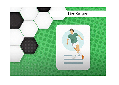 The story about the legendary German soccer player Karl Franz Beckenbauer and his nickname Der Kaiser.