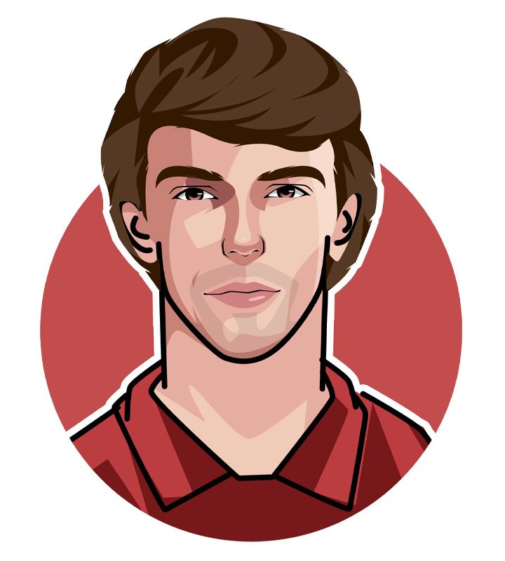 Joao Felix is one of the best football players of today.  Illustration.  Profile drawing.  Avatar art.  The Golden Boy.  Hurricane Felix.