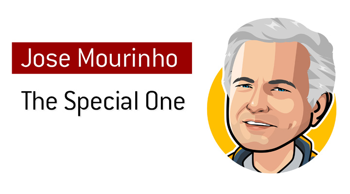 He truly is The Special One - Jose Mourinho - Illustration / Drawing.