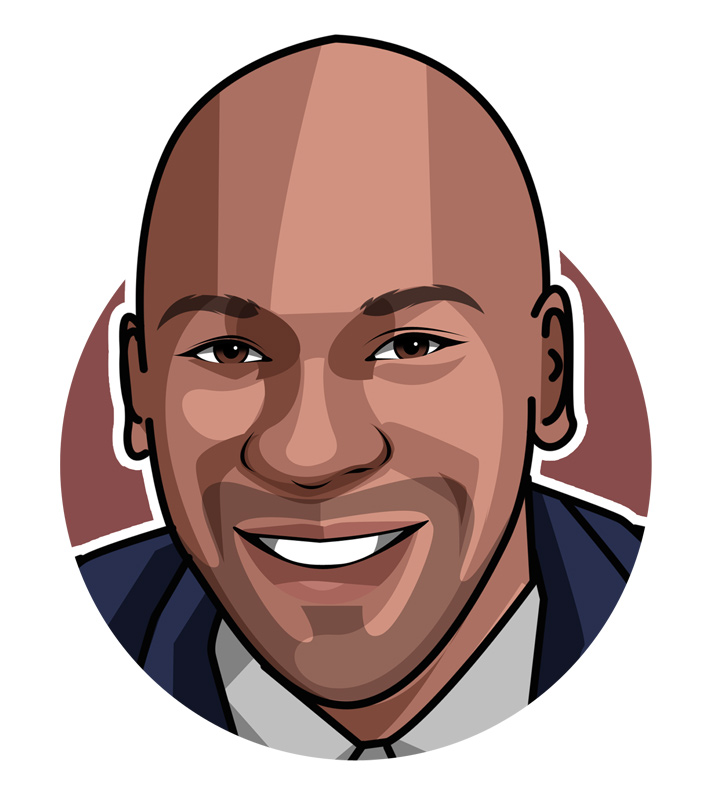 The one and only - Michael Jordan - Illustration.  Profile drawing.  Avatar.  Digital art.