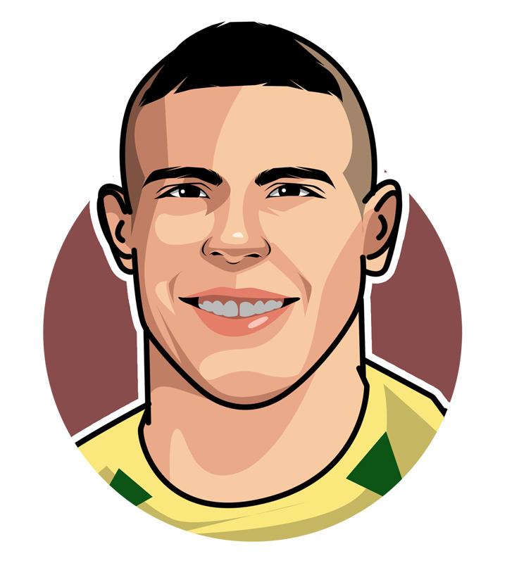 The one and only Il Fenomeno - Illustration.  Ronaldo Luis Nazario de Lima.  Drawing.