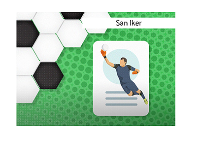 One of the most famous goalies of recent years most certainly is Iker Casillas, nicknamed San Iker.