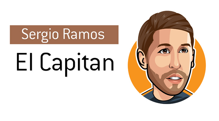 The one and only - Sergio Ramos - also known as the El Capitan.