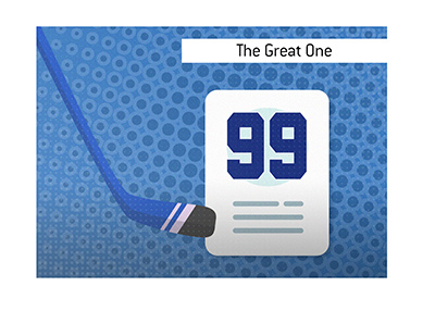 How did one of the most famous hockey nicknames - The Great One - come about? - Wayne Gretzky.