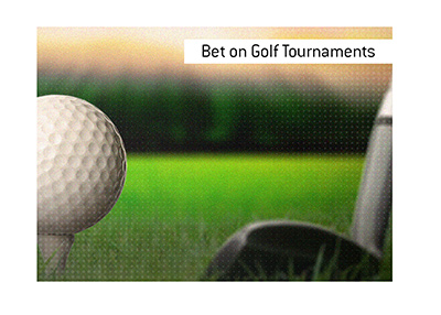 The best way to bet on golf tournaments is...  The King explains.  Where is the best place to place bets?