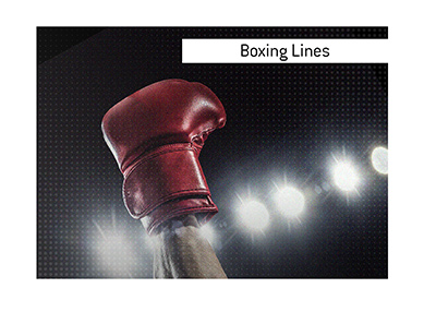 The King goes over the different ways to win or lose when betting on a boxing match.  What lines are usually offered?