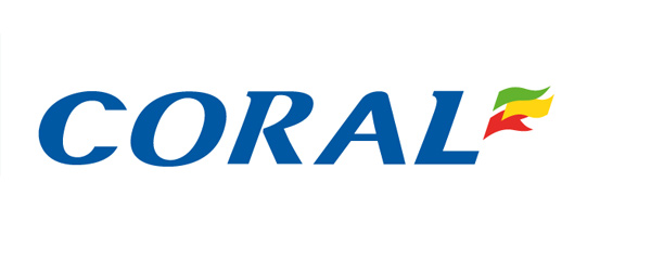 Coral logo - White background