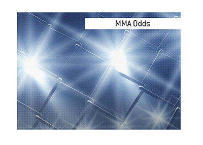 On this page odds are provided for the upcoming mixed martial arts event.  Bet on it, but use caution and financial smarts.