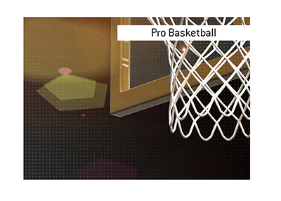 The North American professional basketball league is one of the most favourite sports when it comes to betting.